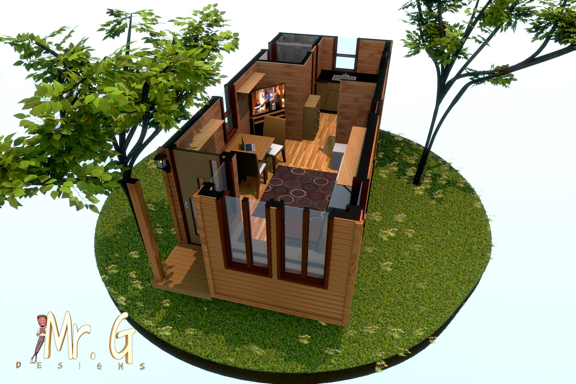 Mr g designs mr g for Small house design 3d